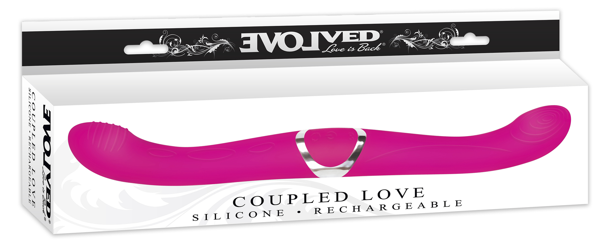 COUPLED LOVE - SILICONE RECHARGEABLE