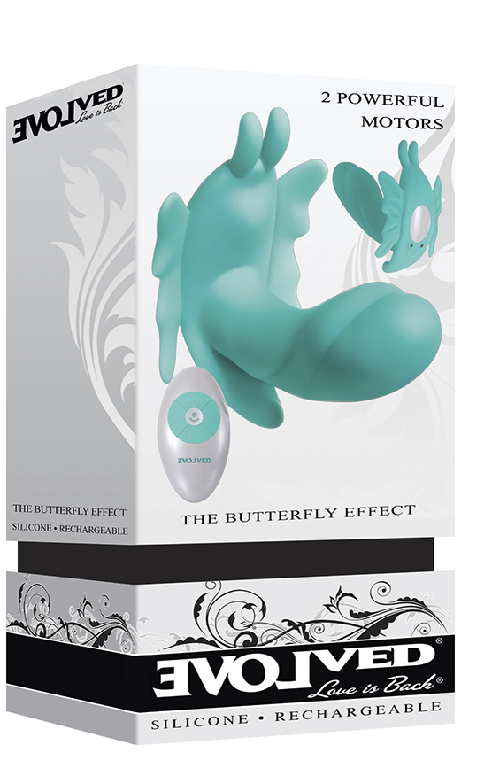 THE BUTTERFLY EFFECT - SILICONE RECHARGEABLE