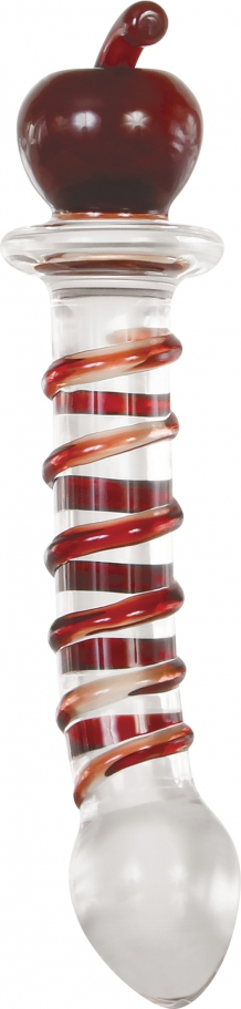 EVE\'S TWISTED CRYSTAL DILDO
