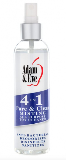 PURE & CLEAN MISTING, TOY CLEANER 4 OZ / 30 ML