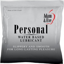 A&E PERSONAL LUBE FOIL 2.5 ML